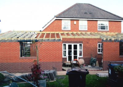 House & Garage Extension